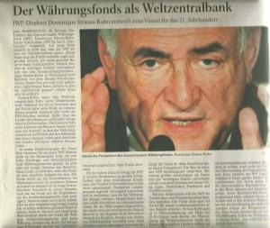Zentralbank als Weltbank?